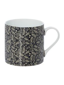 Linea Fable Folk Leaf Print Mug