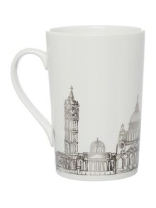 Linea London Skyline Mug