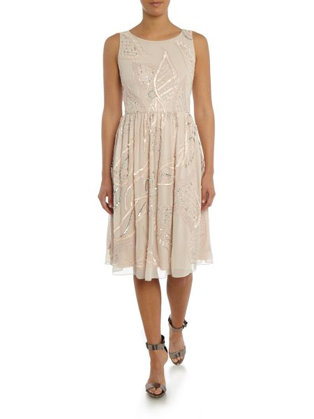 Adrianna Papell Fit and flare dress