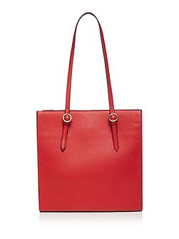 Roma triple compartment handbag