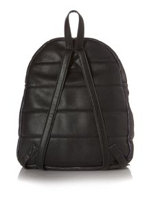 Therapy Black puffer backpack
