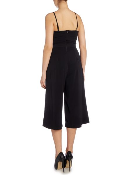 Girls on Film Sleeveless Cutout Jumpsuit