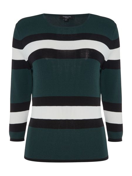 Therapy Brooke Stripe Knit Jumper