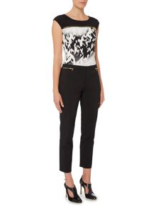 Episode Ankle length trousers with zip