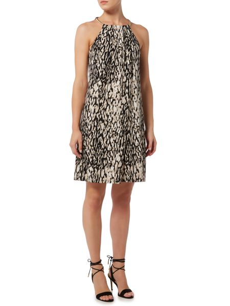 Episode Trapize dress with neck detail