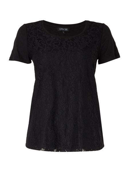 Episode Lace front tee