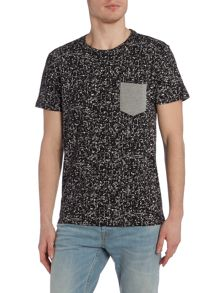 Only & Sons Pocket Detail Crew Neck T-shirt