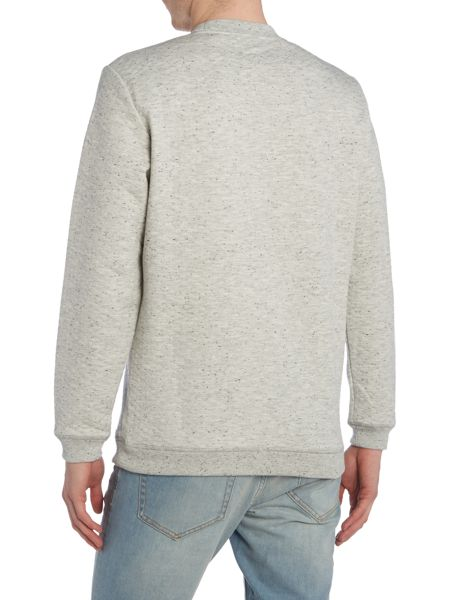Only & Sons Textured Crew Neck Long Sleeve Sweatshirt