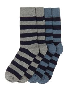Jack & Jones 4 Pack Stripe Socks