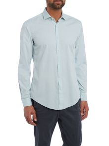Hugo Boss Ridley slim fit long sleeve oxford shirt