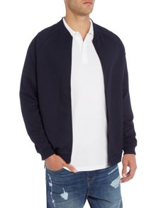 Only & Sons Mens Jacquard Sweat Bomber