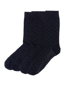 Jack & Jones 4 Pack Printed Socks