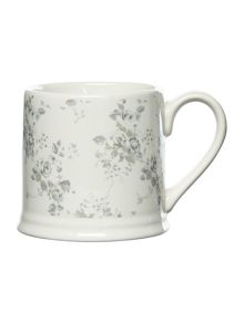 Shabby Chic Antique floral mug