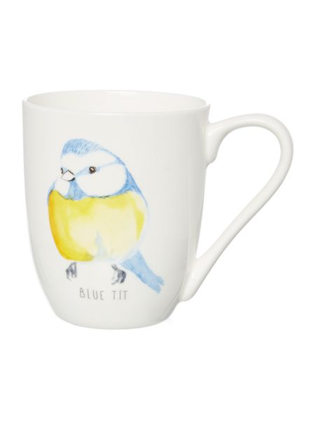 Linea Blue Tit Bird Mug