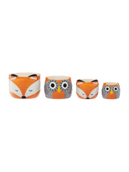 Linea Foxes measuring cups