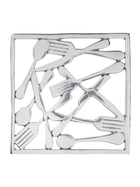 Linea Knives and forks metal trivet
