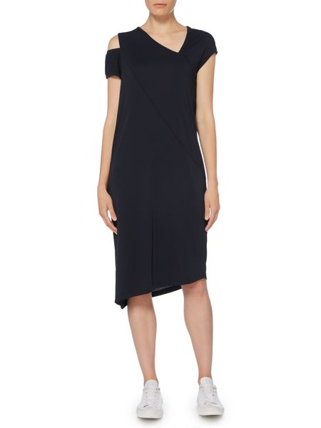 Label Lab Cold shoulder jersey dress