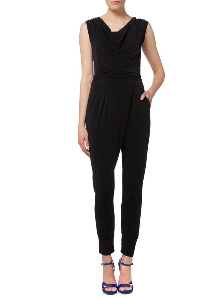 Wal-G Sleeveless Slim Leg Jumpsuit