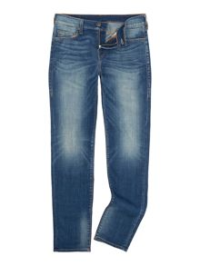 True Religion Tony skinny fit super stretch indigo jeans