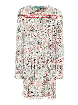 Girls Paisley printed dress