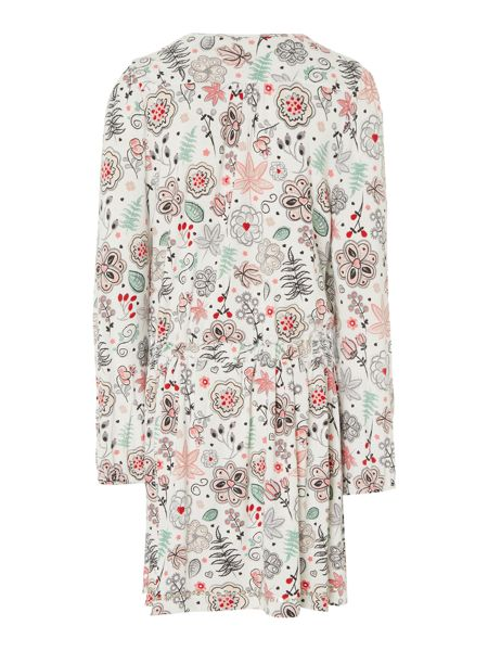 Little Dickins & Jones Girls Paisley printed dress