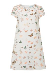 Little Dickins & Jones Girls Butterfly A line dress