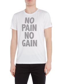 Jack & Jones Graphic No Pain No Gain Crew Neck T-shirt
