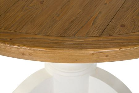 Shabby Chic Willow II round dining table