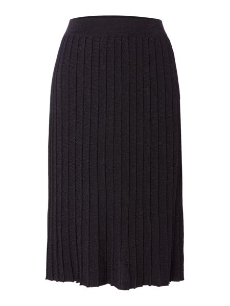 Biba Knitted pleated skirt