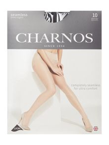 Charnos 10 denier seamless sheer tights