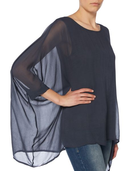 Label Lab Double layer woven top