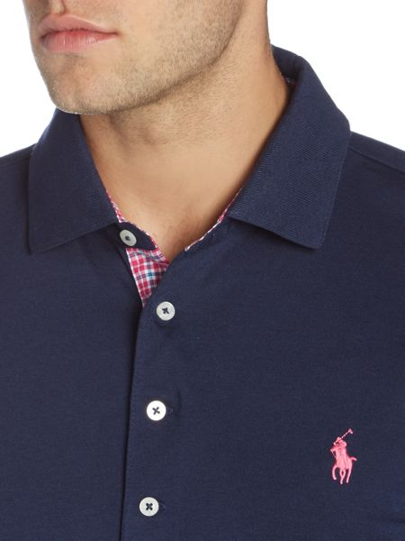 Polo Ralph Lauren Golf Slim Fit Gingham Contrast