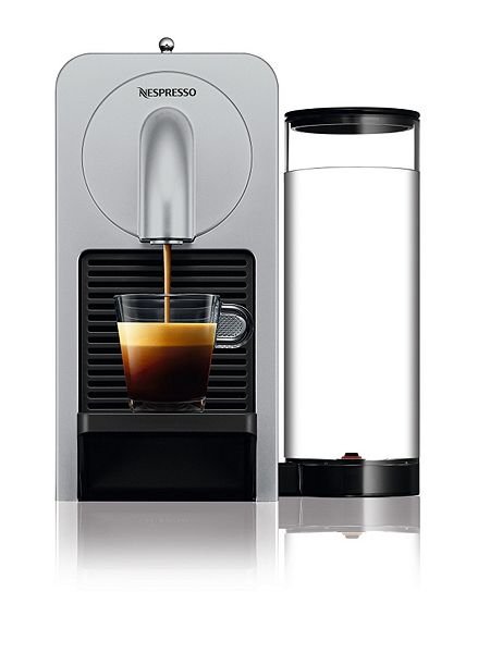 magimix prodigio nespresso coffee machine silver house of fraser. Black Bedroom Furniture Sets. Home Design Ideas