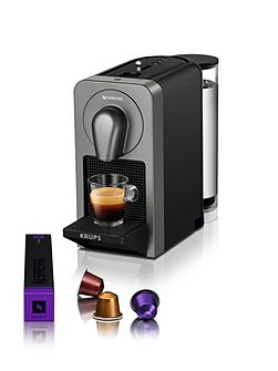 Prodigio Nespresso Coffee Machine, Titan