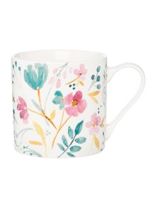 Linea Watercolour Floral Mug