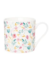 Linea Watercolour Large Floral Mug