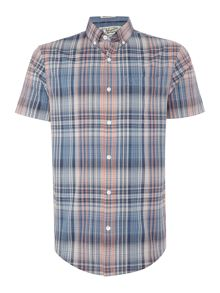 Original Penguin Mapper Plaid Short Sleeve Shirt