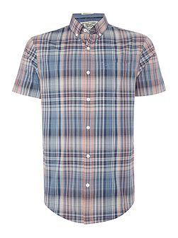 Mapper Plaid Short Sleeve Shirt