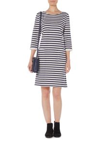 Dickins & Jones Jane Jersey Striped Shift Dress