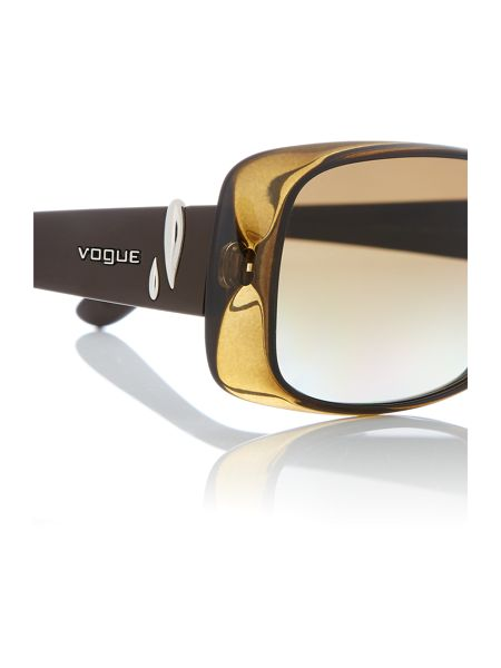 Vogue Green rectangle VO2663S sunglasses