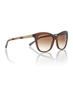 Brown cat eye MK2020 sunglasses