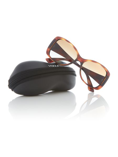 Vogue Havana  square  sunglasses VO2843S