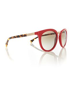 Red round RA5207 sunglasses