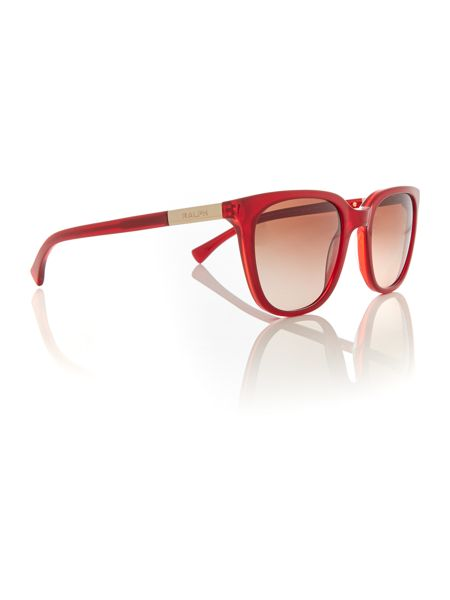 Ralph Red rectangle RA5206 sunglasses