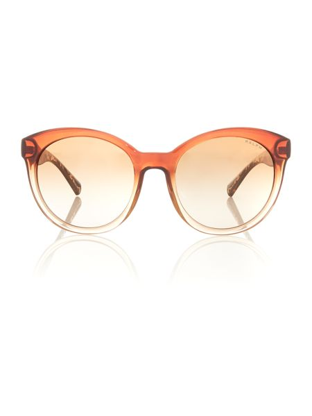 Ralph Brown cat eye RA5211 sunglasses
