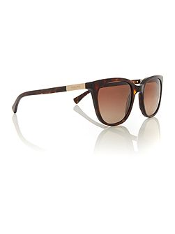 Havana rectangle RA5206 sunglasses