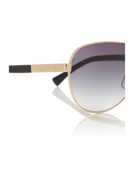 Ralph Gold aviator RA4116 sunglasses