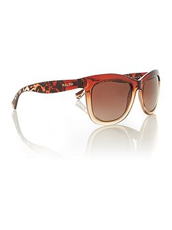 Brown rectangle RA5210 sunglasses