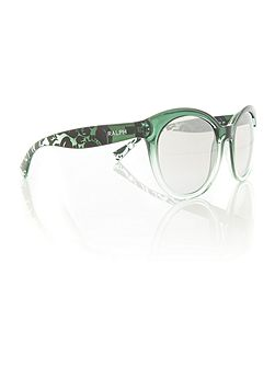 Green cat eye RA5211 sunglasses
