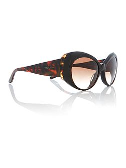 Havana irregular RL8139 sunglasses